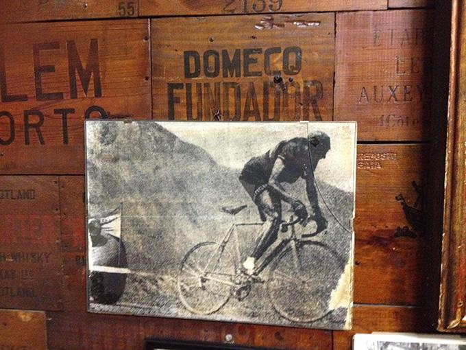 Fausto Coppi y Fundador Domecq: un insospechado dúo imbatible en la Osteria del Sole