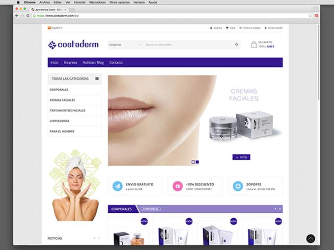 web Costaderm